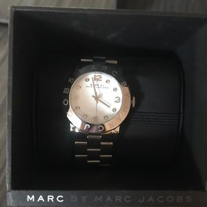 MARC by Marc Jacobs silver watch PERFECT condition